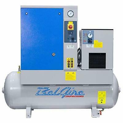 Belaire Br75501d 7.5hp 60gallon 230v 1ph Fixed Speed Rotary Air Compressor Dryer