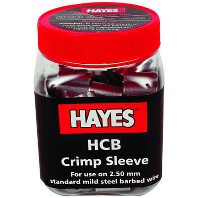 Hayes - Hcb Crimp Barbed Wire 12 12 Ga. 50pk