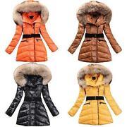Neu Damen Winterjacke Mantel Winter Jacke