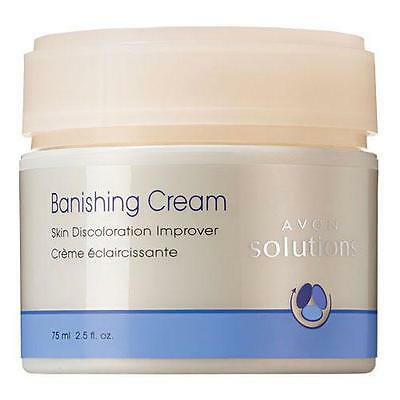 Avon Solutions Banishing Cream Skin Discoloration Age Spots Improver Free Ship