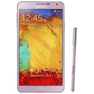 Samsung - Galaxy Note 3 Cell Phone (Unlocked) - Pink Pink Unlocked Cell Phones
