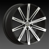 "NEW! BLACK-MACHINED 20"" rims/TIRE! 300 CHARGER MAGNUM CHALLENGER"