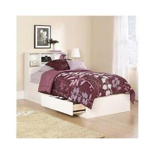 captain bed teen kids dorm bedroom furniture decor college drawers