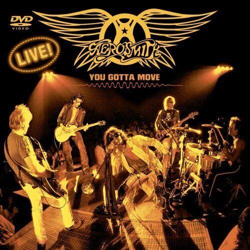 Aerosmith You Gotta Move DVD & CD Combo (Jewel Case Version) (Like New)