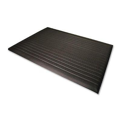 Genuine Joe 2'x3' Black Anti-Fatigue Thick Vinyl ...