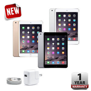 Apple iPad mini 3rd 16GB 64GB 128GB Wi-Fi Gray Silver Gold R-D 7.9in Retina