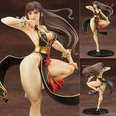 Anime Street Fighter Chun Li Bishoujo 1/7 PVC Figure New No Box 23cm