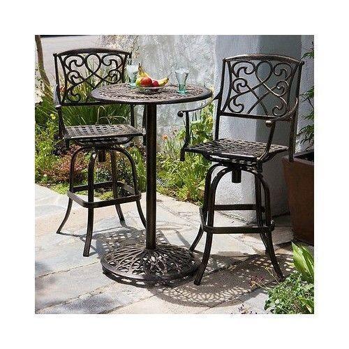 Outdoor Bar Height Table Ebay
