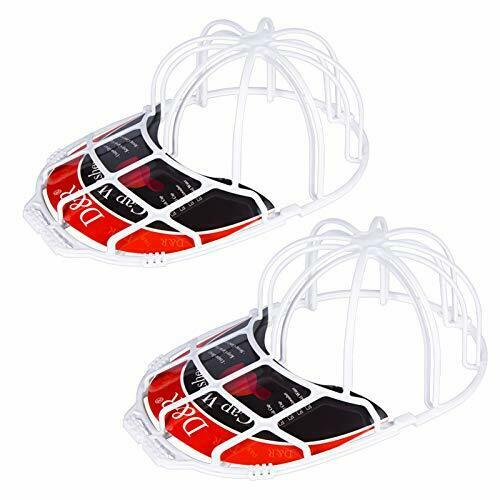 Baseball Hat Washer for Washing Machine Hat Cage Holder Frame Hat Cleaner 2 Pac