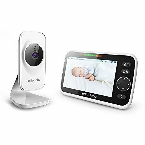 Video Baby Monitor With Camera And Audio, 5 Color LCD Screen - $122.28