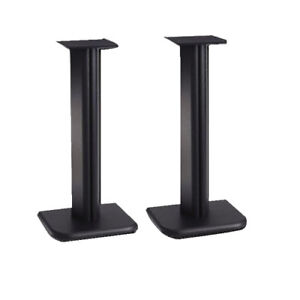 **MINT CONDITION** SPEAKER STANDS WITH MANUALS
