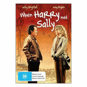 When HARRY Met SALLY DVD NEW TOP 500 MOVIES BEST PICTURE FUNNIEST ACTOR+ACTRESS