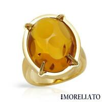 COCKTAIL RING - MORELLATO ANELLO WITH SIMULATED GEM CRAFTED IN