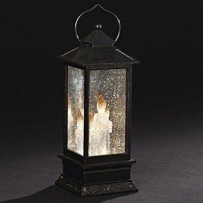 Roman Glitterdome Lantern LED Candles