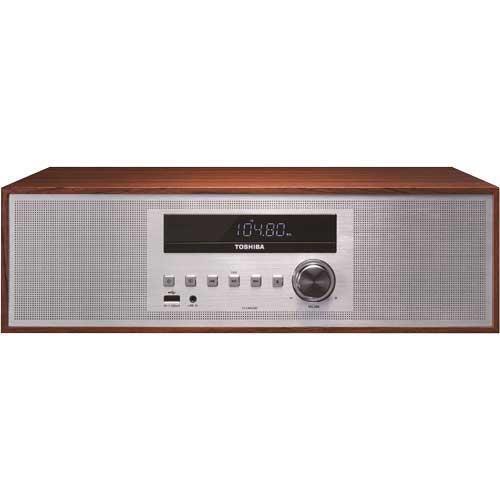 Toshiba 30W Audio System Silver/brown TY-CWU700