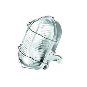 Kellerleuchte Kellerlampe Schiffsarmatur Ovalleuchte max. 60W E27