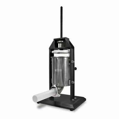 Weston 5 Lb Vertical Sausage Stuffer - Stainless Steel Cylinder - 73-0501-w