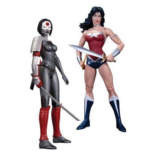Wonder Woman VS Katana DC New JLA Justice League #52 2-Pack Action Figure