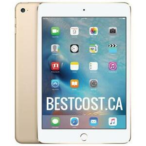 Apple iPad Mini 4 Retina A8 128 GB Wi-Fi White / Gold MK9Q2CL/A - WE SHIP EVERYWHERE IN CANADA ! - BESTCOST.CA