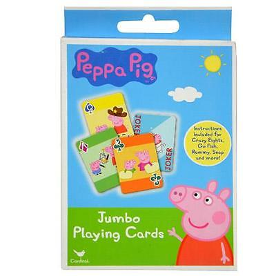 Peppa Pig Party Games (Party Favors Peppa Pig 1pk Jumbo Card Game)
