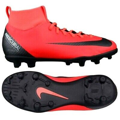 6097a113e Nike SuperFly 6 CR7 JR Soccer Cleats 5 Y ( Women 6.5 ) Red Black AJ3115 DF  FG