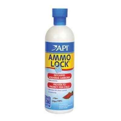 API Fish Tank Aquarium Ammo Lock Ammonia Detoxifier