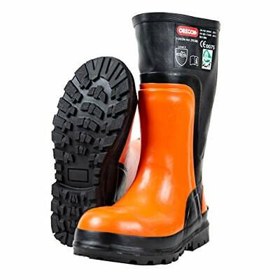 Yukon 295385/43 Chainsaw Protective Rubber Safety Boot,  size 43