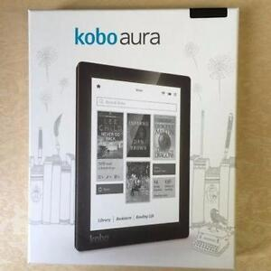 "Kobo Aura 6"" Digital eBook Reader With Touchscreen 4 GB WIFI - FREE SHIPPING"