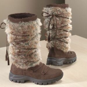NEW WOMENS DINGO FURRY BOOTS SIZE 6M 6 M