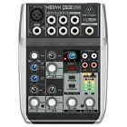 Behringer USB Live & Studio Mixers with Phantom Power