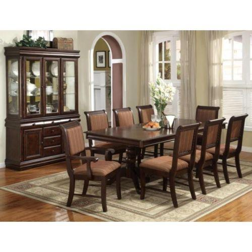 Rooms To Go Dining Table: Double Pedestal Dining Table