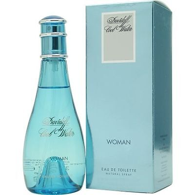 Cool Water by Davidoff 1 oz EDT Perfume for Women New In Box Davidoff 1 Ounce Edt