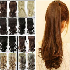 Clip-In-Pony-Tail-Hair-Extension-Wrap-Around-Ponytail-Hair-Extension-For-Human