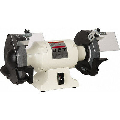 "JET JBG-10A, 10"" 1-1/2 HP 1-Phase Industrial Bench Grinder 577103 New"