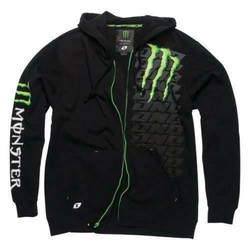monster energy hoodie ebay. Black Bedroom Furniture Sets. Home Design Ideas