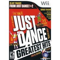 Brand New Just Dance Greatest Hit Game for Wii