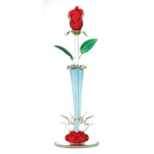 glass rose ebay. Black Bedroom Furniture Sets. Home Design Ideas