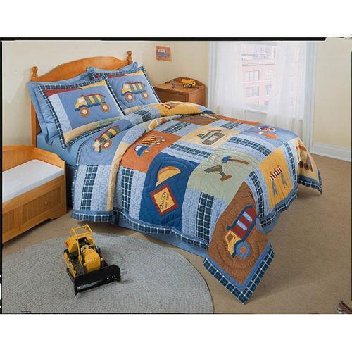 Twin Construction Quilt Ebay