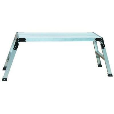Portable Folding Type Ii Aluminum Work Platform 40 W X 12 D X 20 H 225 Lb.