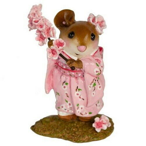 Wee Forest Folk M-459a Cherry Blossom Girl