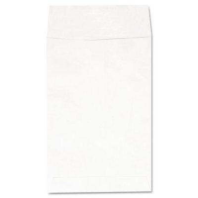 Deluxe Tyvek Envelopes 1 Square Flap Self-adhesive Closure 6 X 9 White
