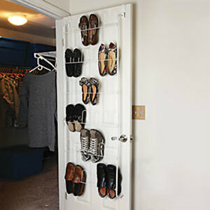 Brand New Over The Door 18 Pair Shoe Rack Easy Assembly
