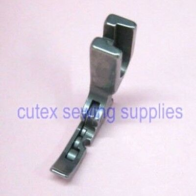 Industrial Sewing Machine Right Narrow Hinged Roller Cording Zipper Foot