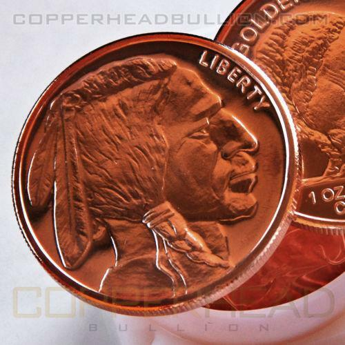 1 Oz Copper Indian Head Ebay