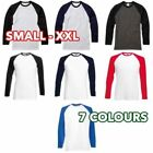 Long Sleeve Baseball T-Shirt Tops for Women