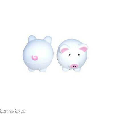 Tenna Tops® White Babe Pig Antenna Topper / Antenna Ball / Car -
