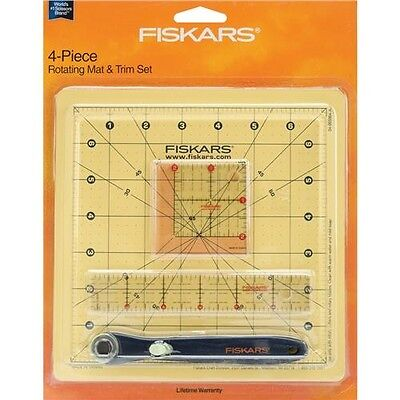Fiskars Rotating Mat & Trim Set - 087678