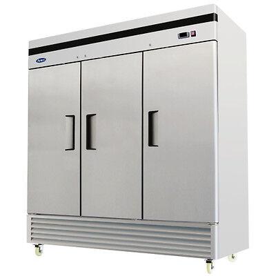 Atosa Mbf8508 - 82 Reach In Refrigerator - 3 Door Reach In Refrigerator Cooler