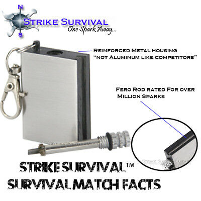 Forever Perma-Match Permanent Match Must Have Survival Gear! Camping & Hiking