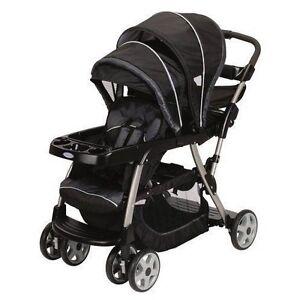 Double Stroller Infant Car Seat Toddler